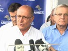 Alckmin descarta elo entre rebeliões no interior de SP e de outros estados