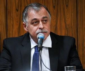 O ex-diretor da Petrobras Paulo Roberto Costa fica calado na CPI da Petrobras (Foto: Geraldo Magela/Agência Senado)