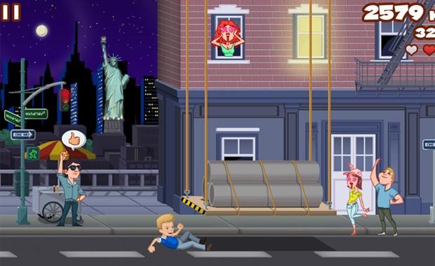 Michel Teló em fase do seu jogo passada em Nova York (Foto: Divulgação)