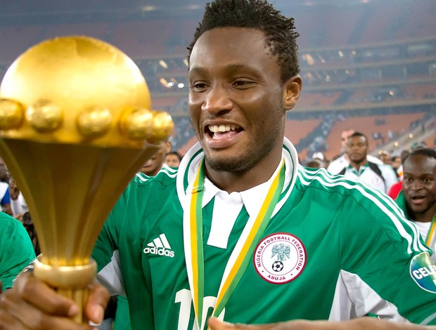 John obi mikel nigéria copa africana de nações (Foto: Agência Getty Images)