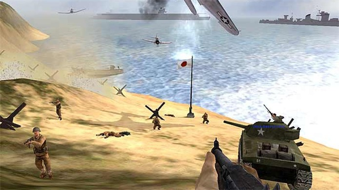 Battlefield 1942 está entre os jogos cujo modo online será encerrado (Foto: Divulgação)