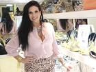 Solange Gomes emagrece para o carnaval: 'Fechei a boca'