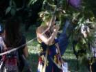 Grávida, Angélica grava 'Estrelas' em parque florestal do Rio