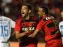"""Diego Souza pede paciência à torcida e quer ficar """"um bom tempo"""" no Sport"""