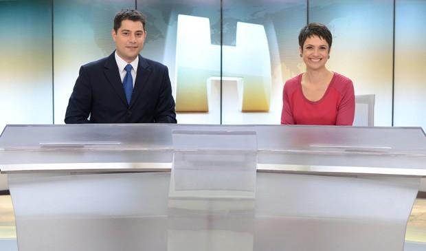 Jornal Hoje_novo cenário (Foto: José Paulo Cardeal / TV Globo)