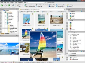Visualizador de imagens do ACDSee Photo Manager em funcionamento.