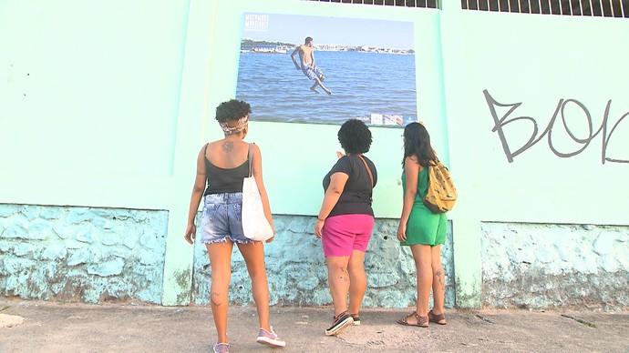 Projeto Mocambos Marginais reafirma a identidade de moradores do Subúrbio (Foto: TV Bahia)