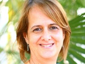 Pesquisadora da Embrapa Pantanal, Ana Fernades (Foto: Nicoli Dichoff/Embrapa Pantanal)