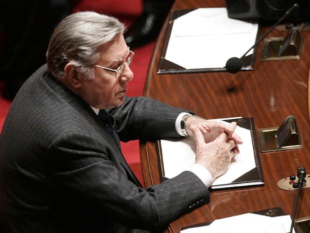 Pininfarina no senado italiano, em 2006 (Foto: AP Photo/Plinio Lepri)