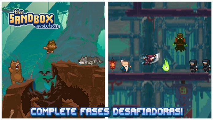 Sandbox Evolution é um game inovador onde você pode até criar seus próprios jogos (Foto: Reprodução / PIXOWL INC.)