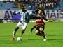 Atlético-GO e Avaí fazem jogo com muitas chances e empatam em 1 a 1