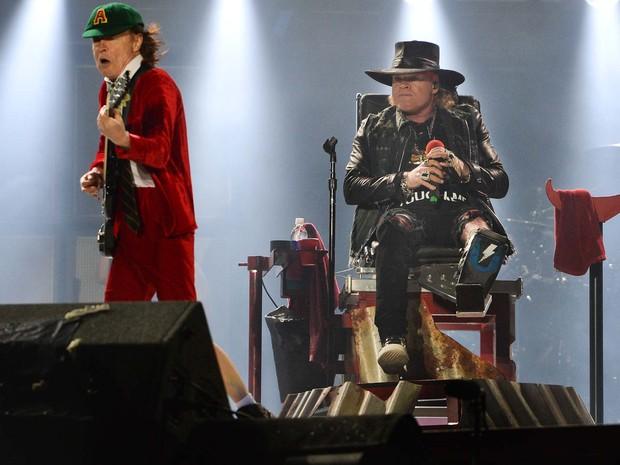 AC/DC faz em Lisboa seu primeiro show com Axl Rose no vocal