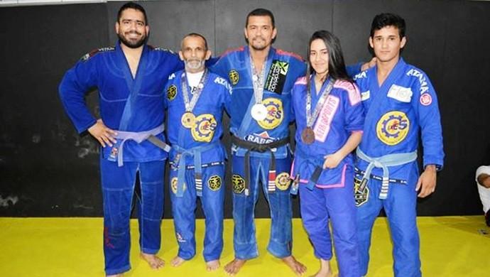Acreanos medalhistas no Mundial de Jiu-jítsu (Foto: Duaine Rodrigues)