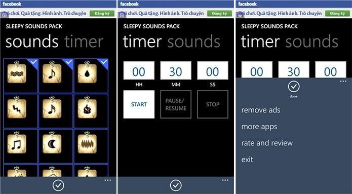 Sleepy Sounds Pack é um aplicativo para quem quer relaxar com o seu Windows Phone Store (Foto: Divulgação/Windows Phone Store)