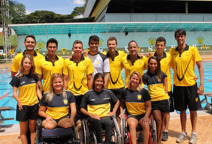 Equipe Paralímpica de Natação Praia Clube Circutio Nacional segunda etapa (Foto: Divulgação/Praia Clube)