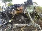 FOTOS: Queda de avião mata 33 na Namíbia