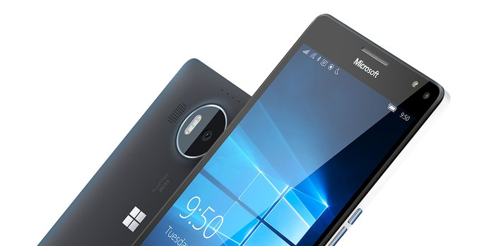 Lumia 950 XL possui tela de 5,7 polegadas com resolução QHD (Foto: Divulgação/Microsoft)