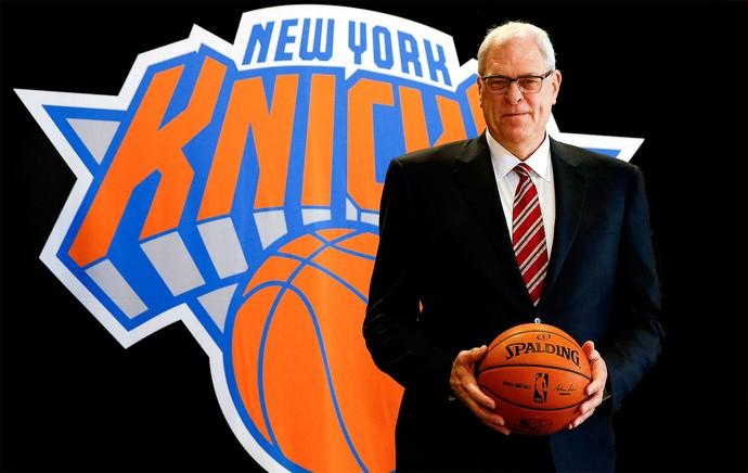 Phil Jackson novo presidente do New York Knicks (Foto: Agência Reuters)