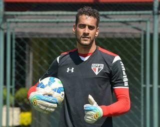 Léo goleiro São Paulo (Foto: Érico Leonan/saopaulofc.net )