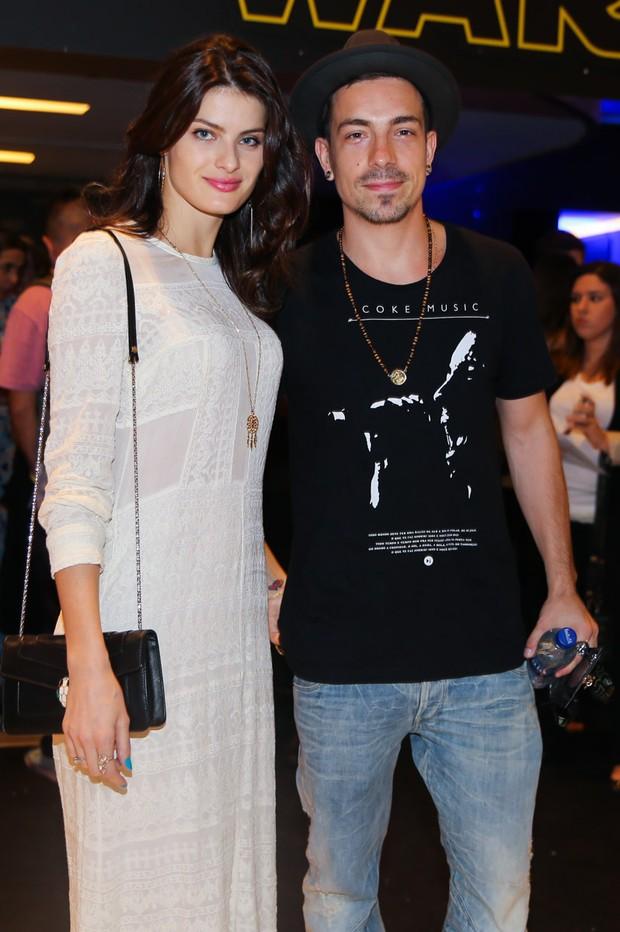 Isabeli Fontana e o noivo Di Ferreiro (Foto: Manuela Scarpa/Brazil News)