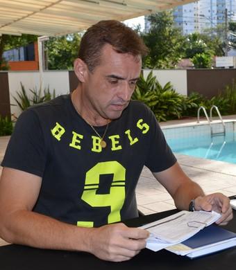 Empresário Júnior Moraes São José (Foto: Danilo Sardinha/GloboEsporte.com)