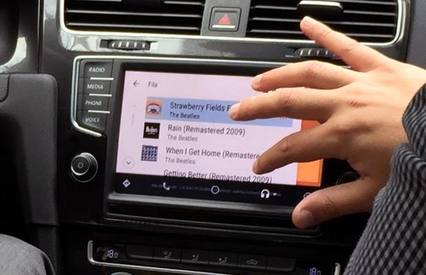Volkswagen Golf já é compatível com o Android Auto (Foto: Anaís Motta/Autoesporte)