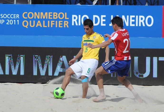 Jorginho futebol de areia seleção brasileira (Foto: Diego Mendes / CBBS)