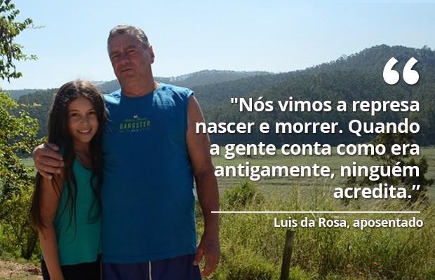 Luis da Rosa, Salesópolis (Foto: Maiara Barbosa/ G1)