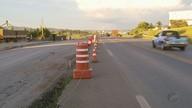 Imprudência de motoristas traz problemas em trecho da BR-491 em obras em Varginha (MG)