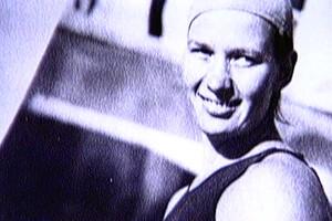 Maria Lenk foi a primeira brasileira a disputar uma Olimpíada (Foto: Reprodução SporTV)