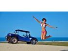 Isabella Santoni mostra boa forma em mais uma foto das férias