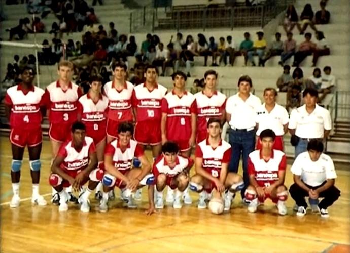 Otaviano Costa foi jogador de vôlei na adolescência (Foto: Vídeo Show / Gshow)