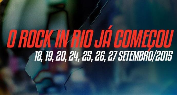 Sexta edição do Rock in Rio acontece em setembro (Foto: Divulgação)