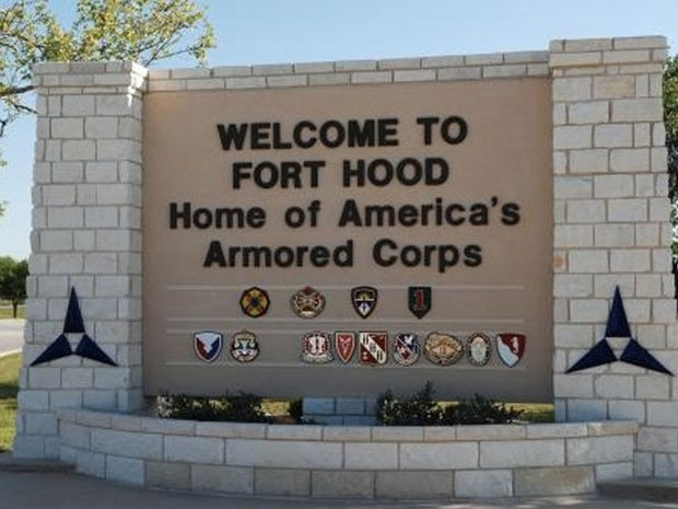 Fachada da base militar Fort Hood, em Killen, no Texas  (Foto: Reuters/III Corps Public Affairs/U.S. Army/Handout/Files )