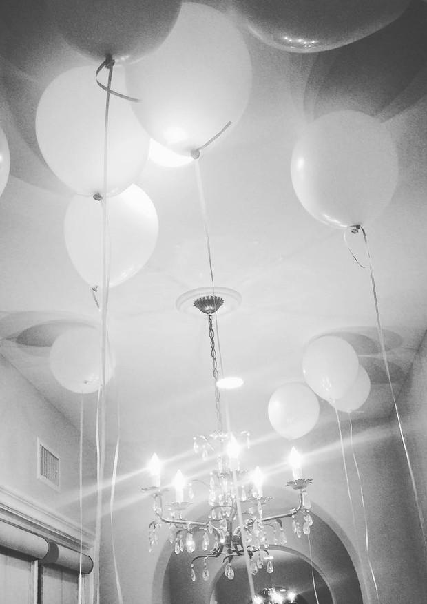 Balões para Suri Cruise (Foto: Instagram/Reprodução)