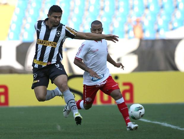 Elkeson gol de letra Botafogo (Foto: Jorge William / Agência O Globo)