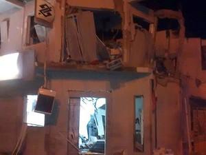 Explosão bando Andorinha, na Bahia. (Foto: Arquivo Pessoal)