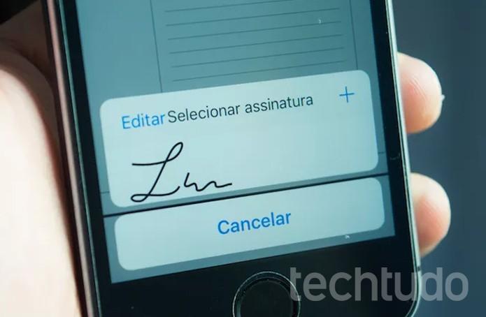 Como inserir assinatura física em documentos pelo Dropbox  (Foto: Reprodução/Marvin Costa)