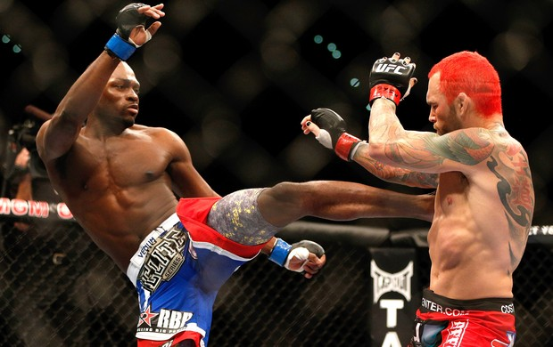 Chris Leben e Derek Brunson, UFC 155 (Foto: Getty Images)