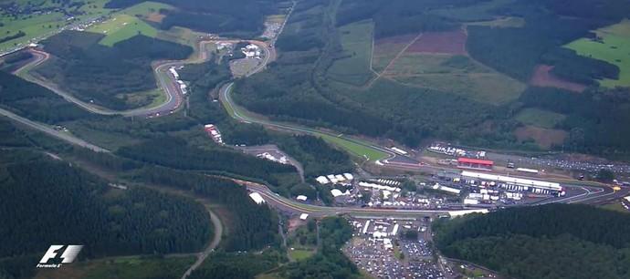 Circuito de Spa-Francorchamps (Foto: Reprodução)