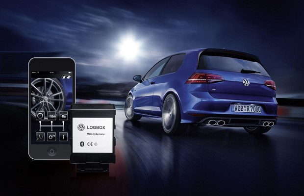 Volkswagen LogBox e RaceApp (Foto: Divulgação)