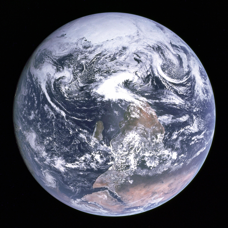"""Mármore Azul"" (Foto: NASA)"