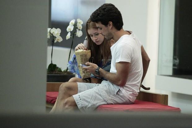 Marina Ruy Barbosa e Xandinho Negrão (Foto: Agnews)