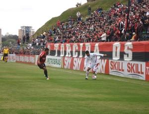 Atlético-PR e Boa Esporte, no Ecoestádio, pela Série B (Foto: Fernando Freire/GLOBOESPORTE.COM)
