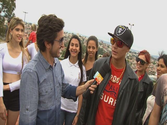"""Revista de Sábado traz uma reportagem sobre o """"funk ostentação"""" (Foto: Reprodução / TV TEM)"""