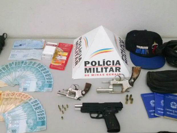 roubo boate Pará de Minas  (Foto: PM/Divulgação)