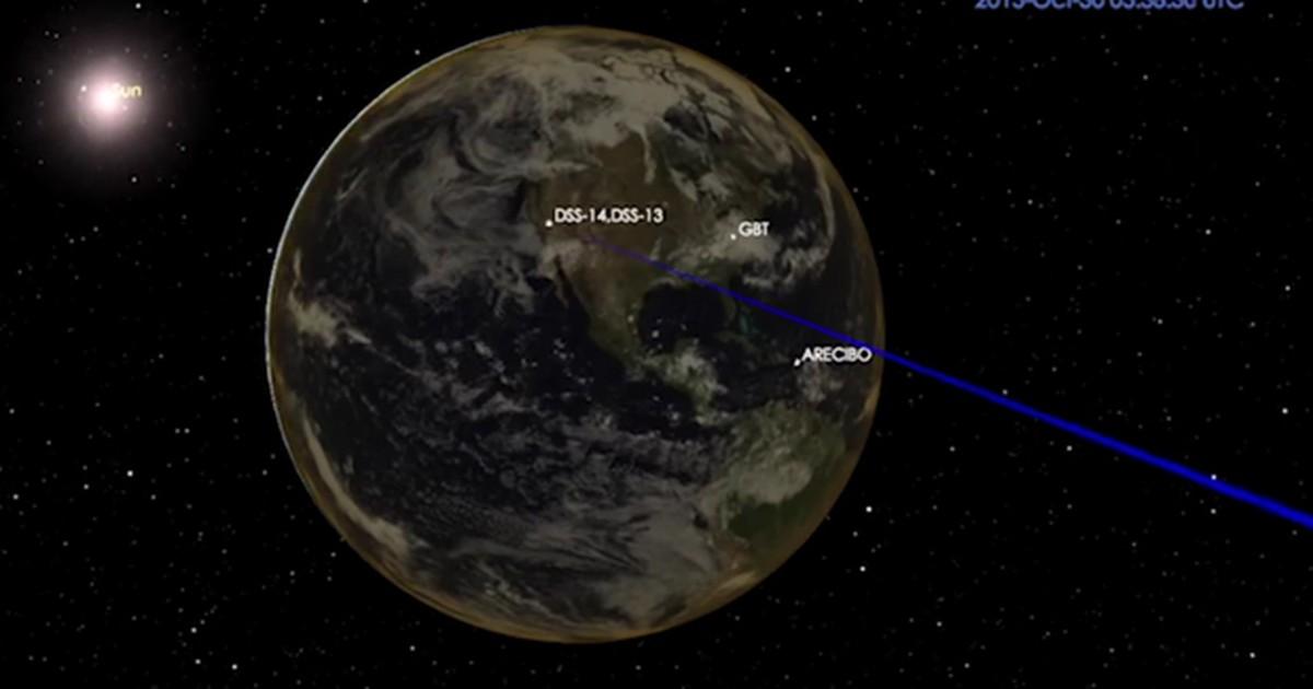 'Asteroide do Halloween' passa em ponto mais perto da Terra este sábado