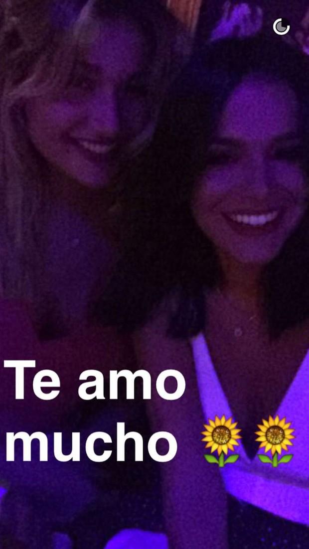 Bruna Marquezine e Sasha (Foto: Reprodução/Snapchat)