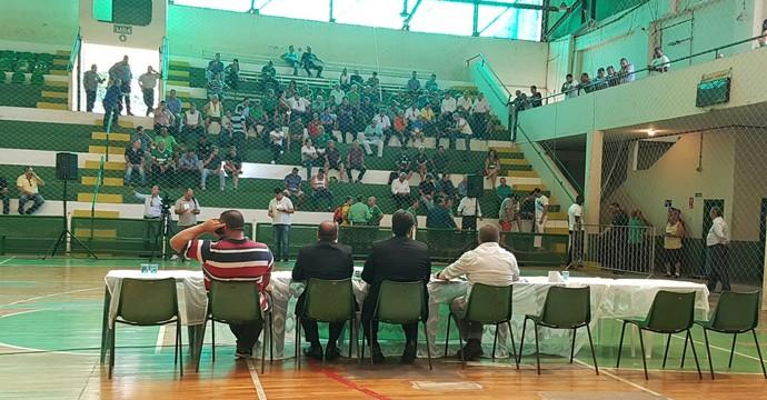 Comissão Eleitoral Guarani, assembleia (Foto: Divulgação Guarani)
