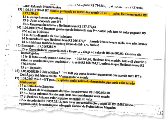 A PF rastreou a passagem de R$ 2 bilhões pelas contas do advogado Maurício Dal Agnol (Foto: Reprodução)